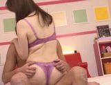 Japanese model gets fucked hardcore for a creampie
