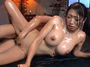 Hot and horny Reiko Kobayakawa Asian babe enjoys a rear fuckingasian anal, asian ass}