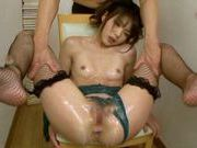 Megumi Shino exposes her juicy and wet bodyasian pussy, fucking asian}
