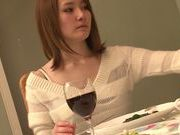 Shy MILF Misuzu Tachibana Opens Up For A Rough Threesome