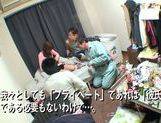 Horny Ai Kiyuu gets banged by three horny men picture 13