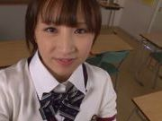 Ayumi Kimino Asian doll in school uniform