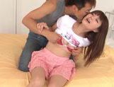 Hot chick Azu Hoshitsuki getting a very nice rear fucking picture 11