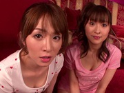 Hot MILF Yukiko Suo performs hand worksexy asian, young asian}