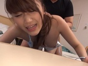 Lovely Japanese teen amateur fucked by a massive guy gets a facial loadcute asian, asian sex pussy}