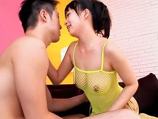 Nice teen babe Nozomi Hazuki adores passionate sex