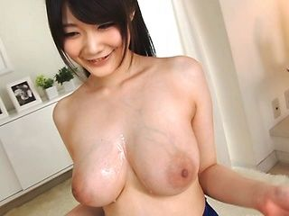 Busty Rie Tachikawa likes to swallow