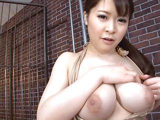 Voluptuous Satomi Nagase provides amazing blowjob on cam