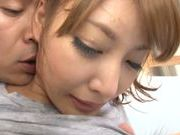 Busty babe Kirara Asuka gets nailed hard and deep