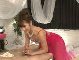 Fancy Japanese AV model Anna Anjo enjoys doggystyle fuck picture 6