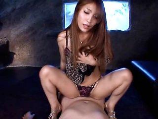 Young Kokomi Sakura pleases horny male properly