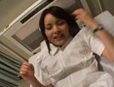 Emiri Aoi Kinky Japanese nurse is sexy picture 13