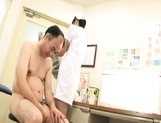 Rika Nagasawa Cut Asian nurse is up for some sex picture 8