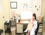 Rika Nagasawa and Mao Sakurai Naughty Asian nurses make creampie clinic