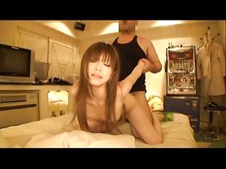 Miyu Sakura Young and horny Asian chick enjoys a fucking in the hotel