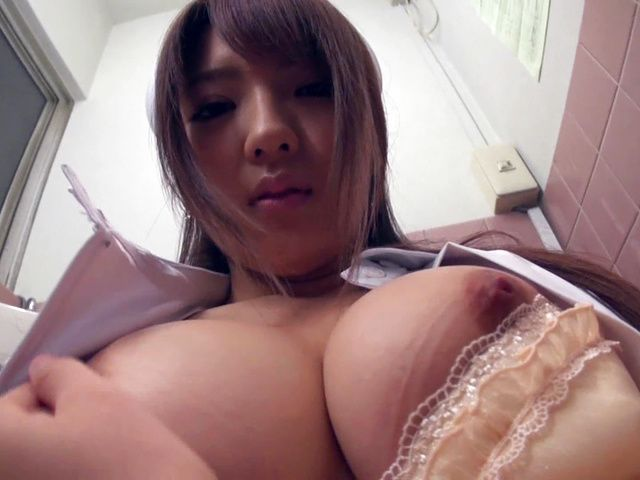 Busty nurse gives stunning sexy hot video