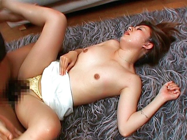 Erika San Hot Asian model gets a hard fucking