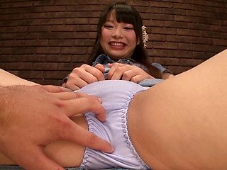Group action satisfies Asian teen Arina Sakita
