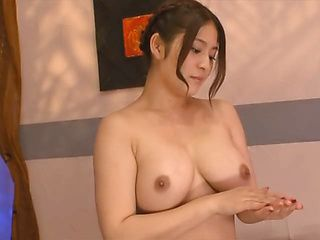Meguri busty Asian masseuse gives one hot happy ending