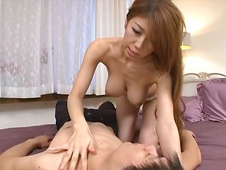 Yuuka Minase Asian housewife is a horny mature chick getting drilled