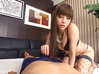 Maeri Konno amateur babe enjoys hardcore action and pov sex