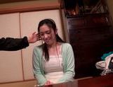Busty japanese teen Miho Yukino gets nailed by older guy picture 13