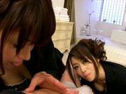 Kaoru Natsuki takes office suite for sex