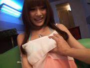 Kirara Asuka Hot Asian doll shows off her body and plays with vibrators
