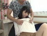 Talented Japanese teen Moka Sakaue pleases her boyfriend picture 14