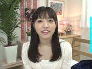 Talented Japanese teen Moka Sakaue pleases her boyfriend