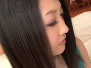 Sex toys for seductive Asian babe Mayumi Chikazawa