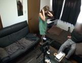 Sexy teen gets filmed while fucking her date picture 14