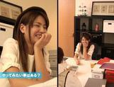 Red-hot cutie Nanami Sakura gets fingered and stretched