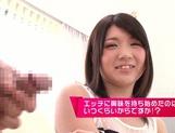 Cock sucking Kokoha Mizuki in superb amateur show