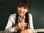 Kirara Kurokawa Sweet Asian teacher is a hottie with big tits