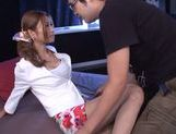 Adorable skinny Akari Asahina loves hardcore fuck scenes picture 4