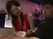Skinny Yui Tatsumi pleases horny hunk hard dick