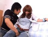 Kirara Asuka Hot Asian doll gets her pussy teased in jeans picture 15