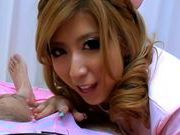Haru Sakuraba Naughty Asian nurse sucks cockjapanese porn, young asian}