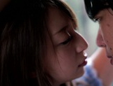 After kissing Marie Shiraishi endures sex picture 14