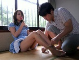 After kissing Marie Shiraishi endures sex