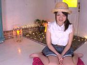 Charming Asian teen gal Azusa Akena gets amazing titfuck