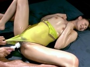 Strong drilling for Nono Misuzawa´s tight pussyasian ass, young asian, asian anal}