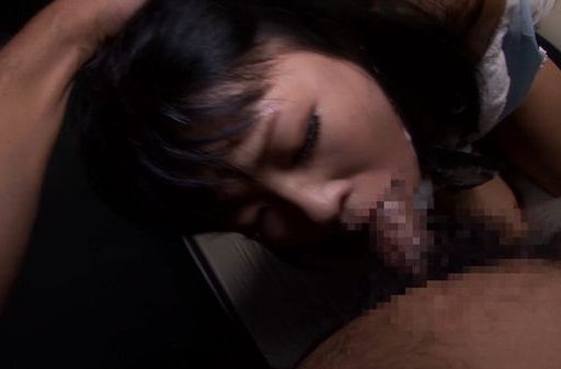 Saya Takazawa Asian teen deep throats a hard cock and gags