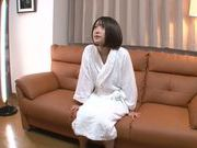 Sweet Japanese AV teen Yuzu Ogura is oiled and teased by toys
