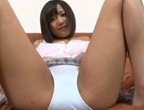 Sex appeal Asian teen with tiny tits Miyu Suzumura rides cock picture 13