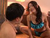 Busty Reiko Kobayakawa likes to get dirty sex picture 4