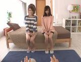 Yummy Japanese girls get fingered and fucked POV