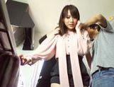 Superb Mika Nakagawa enjoys group sex and DP picture 13