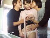 Superb Mika Nakagawa enjoys group sex and DP picture 9